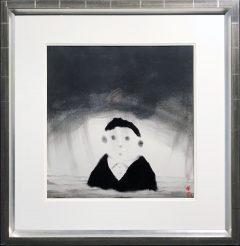 Mackenzie Thorpe – Face in the Clouds - Original