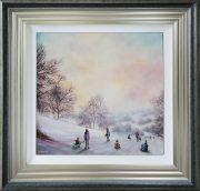 Danny Abrahams Original Painting Snow Days