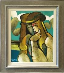 Geoffrey Key Daydream Original figurative Painting