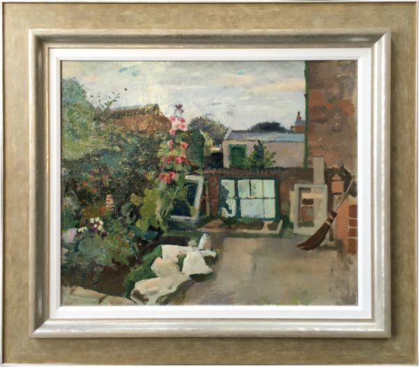 Harry Rutherford Back Garden Through Window