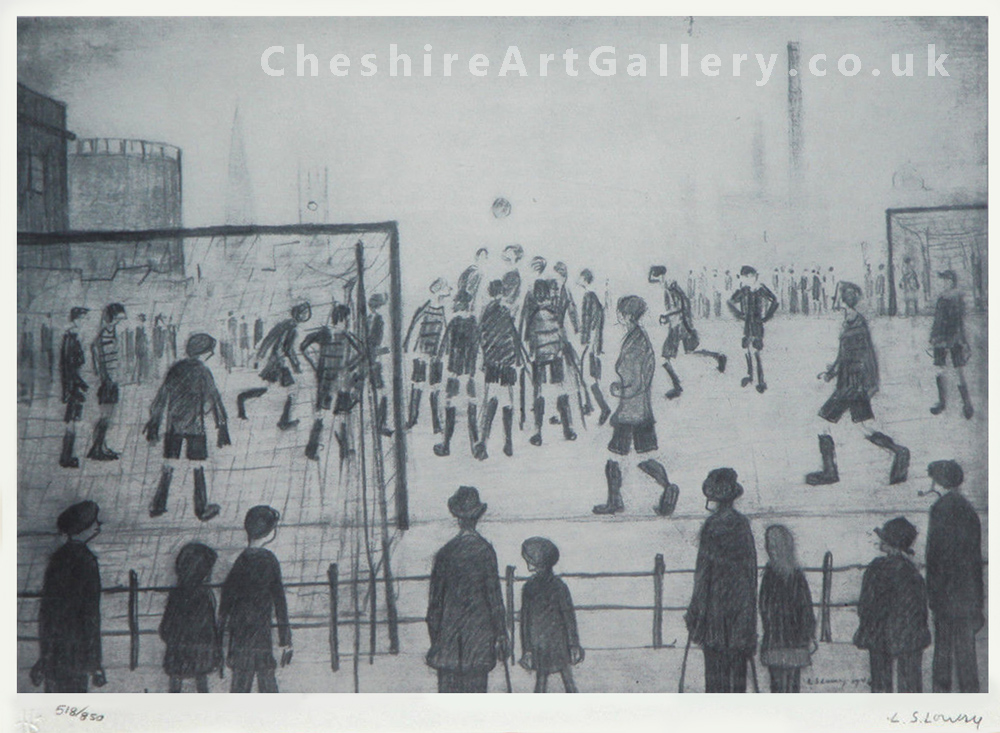 lowry-football-match