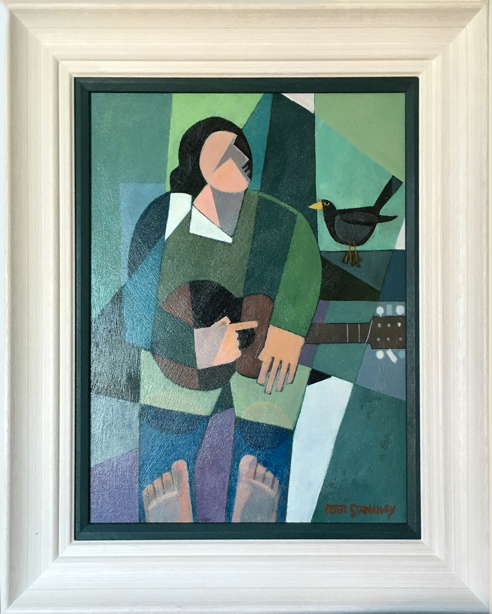 Peter Stanaway If I were a Blackbird Original Painting for Sale