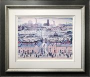 L S Lowry Britain at Play Signed Limited Edition Print
