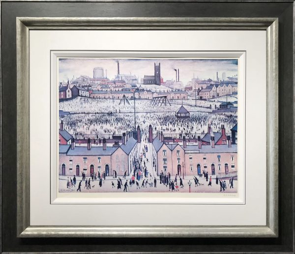 L S LOWRY BRITAIN AT PLAY