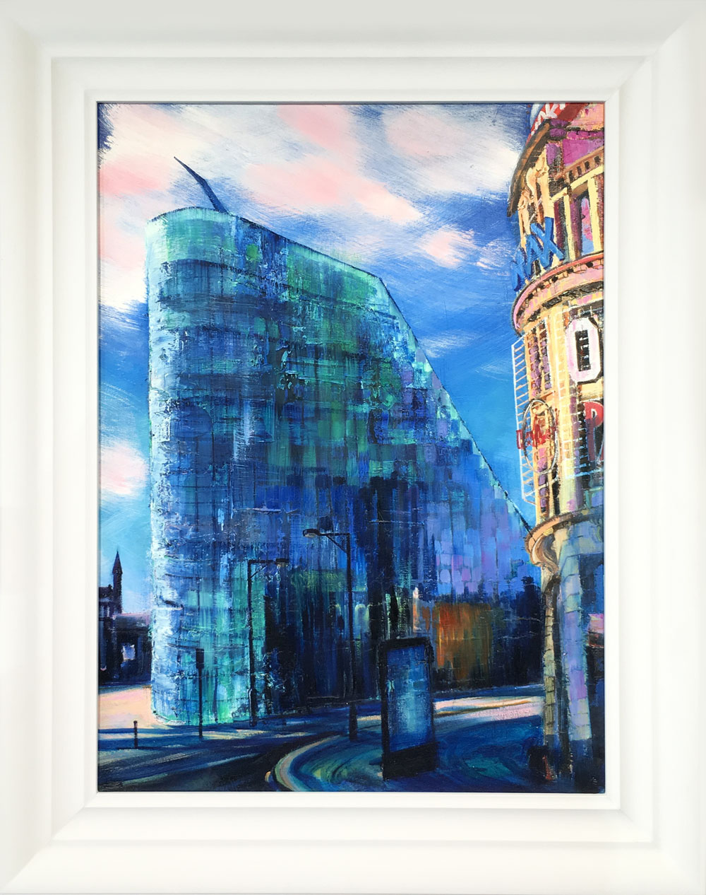 Hugh Winterbottom Original Painting of Urbis