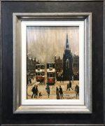 Arthur Delaney Albert Square Original Painting for sale