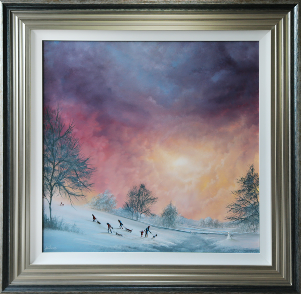 Danny Abrahams Never Mind the Sledging original painting