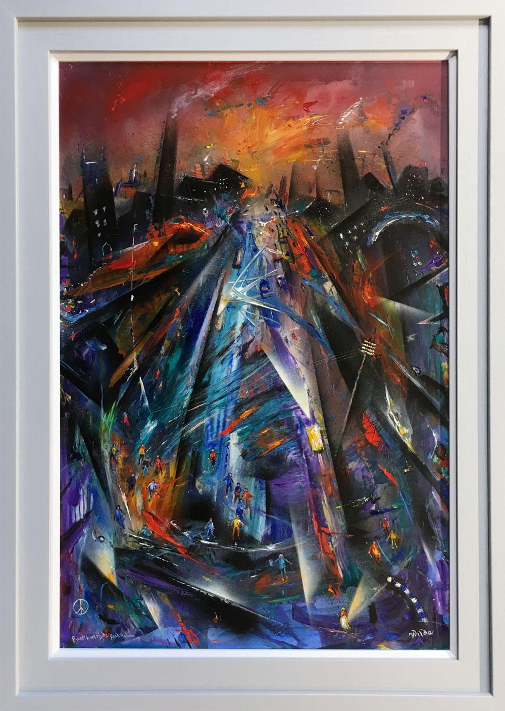 David Wilde Original Painting for Sale