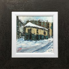 David Coulter Peveril of the Peak in Winter Original Painting