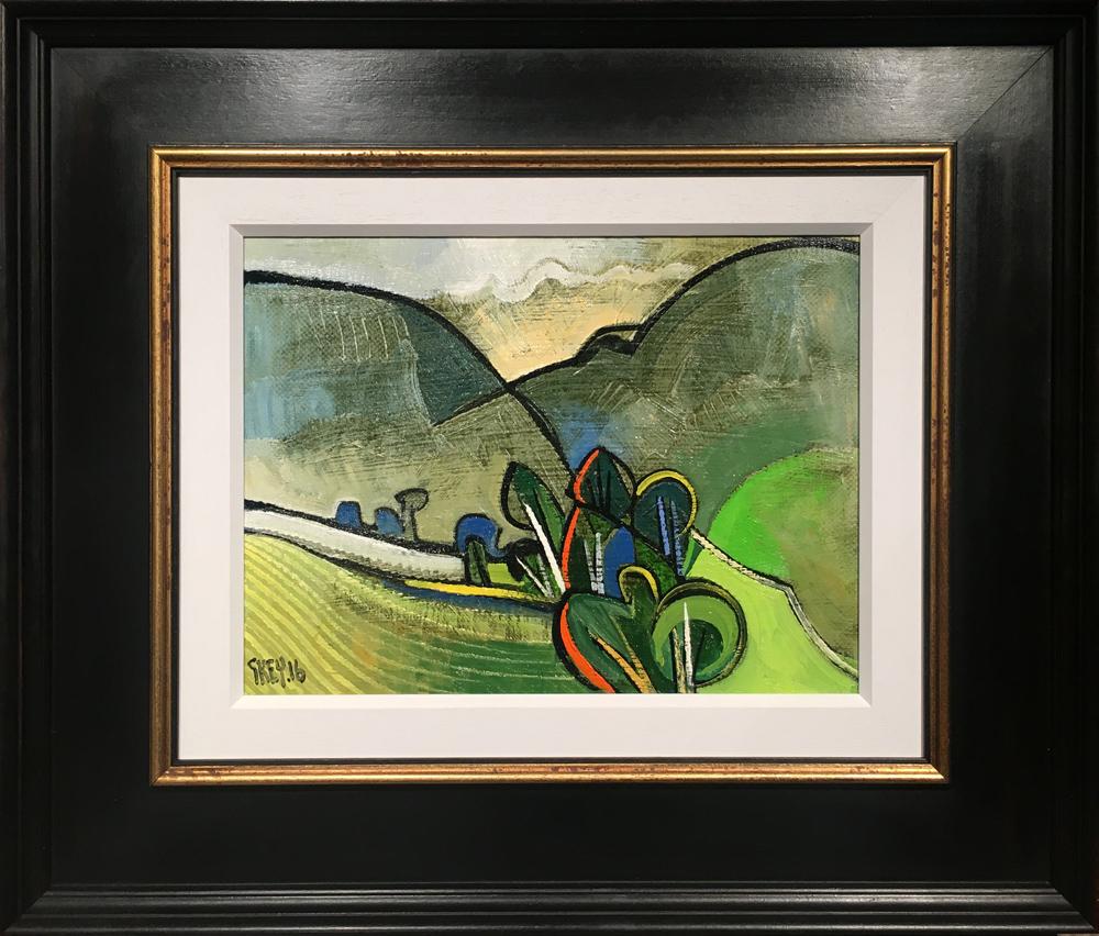 Geoffrey Key Cumbrian Hills Landscape Painting