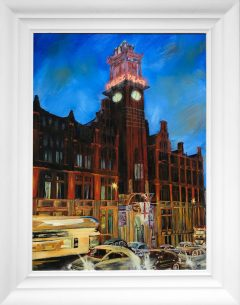 Hugh Winterbottom Original Painting of the Palace Hotel Manchester