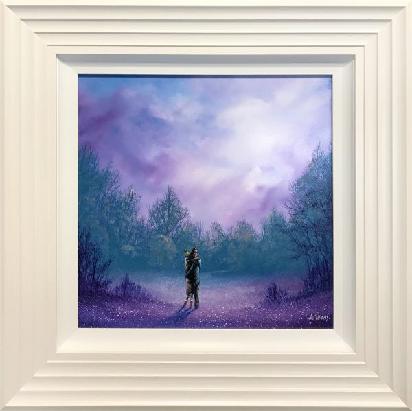 Danny Abrahams Original Painting Cant Help Falling in Love