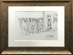 John Thompson Original Pen Drawing It Couldn't Be Could It