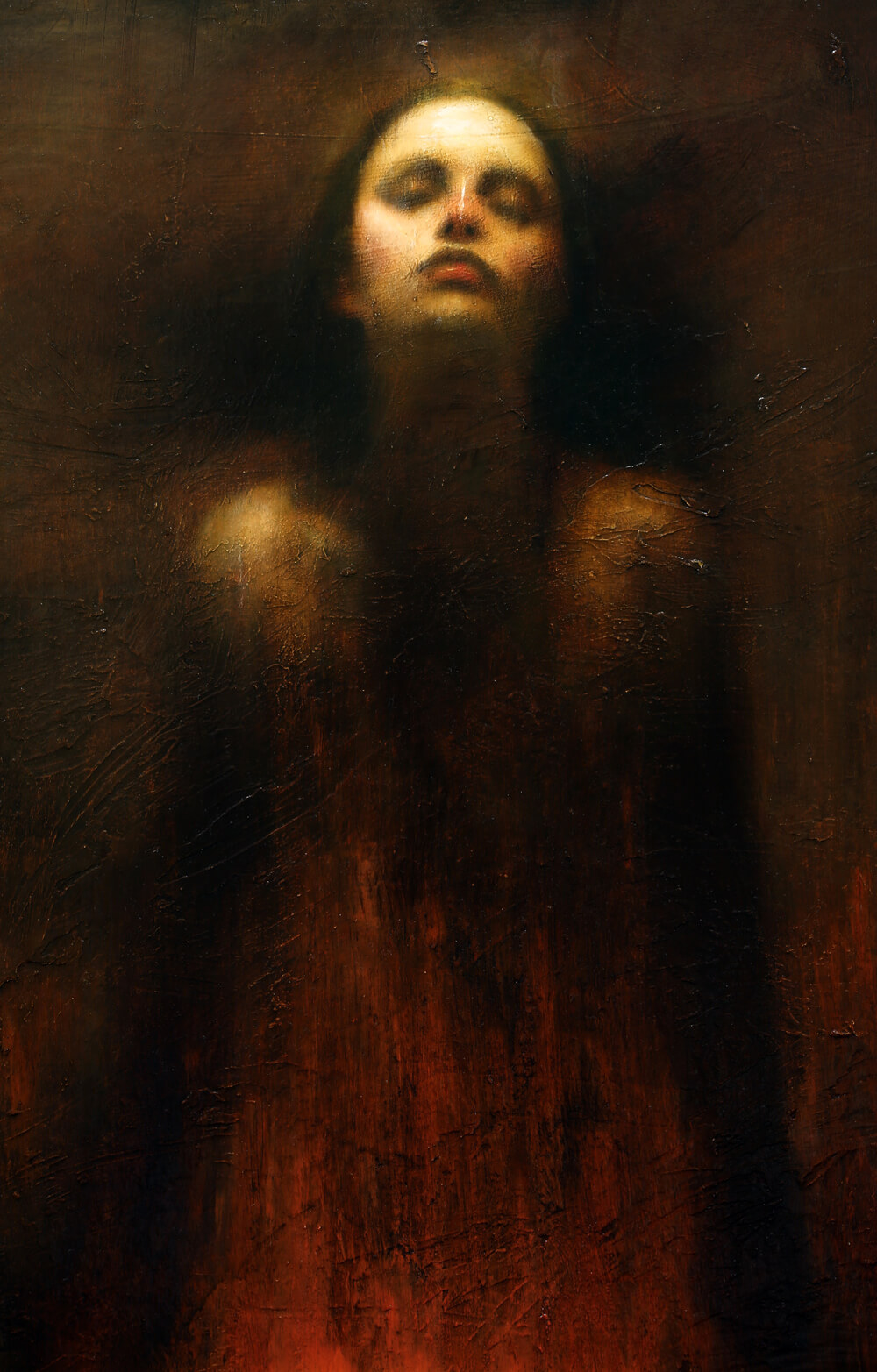 Mark Demsteader Study for Moorland Spirit for sale at Cheshire Art Gallery