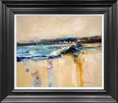Judith Donaghy Rhosneigr Semi Abstract Original Painting