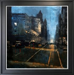 David Coulter Refuge from St Peters Square Original Painting