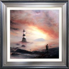 Danny Abrahams Original Painting Magical Moment on Anglesey