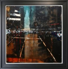 David Coulter Cross Street Junction Original Painting