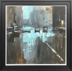 David Coulter Oxford Street Original Painting for Sale