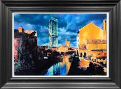 Hugh Winterbottom Castlefield Canal Original Painting
