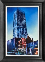 Hugh Winterbottom Dizzy New Heights Painting SOLD