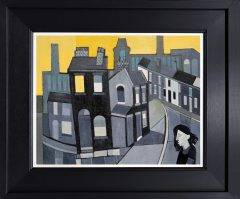 Peter Stanaway Miles Platting Original Painting for Sale