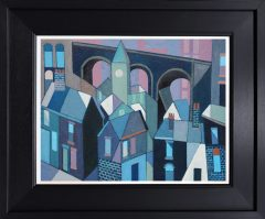 Peter Stanaway Twisted Viaduct Original Painting for Sale