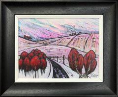 Steve Capper December Original Painting for Sale