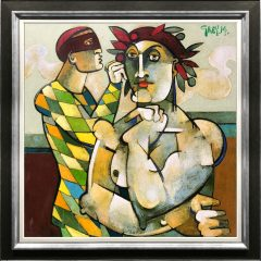 Geoffrey Key Harlequin with Nude