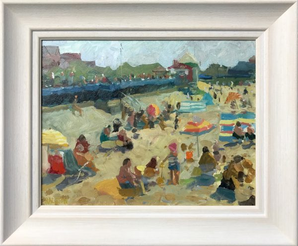 Adam Ralston St Annes Beach Original Painting