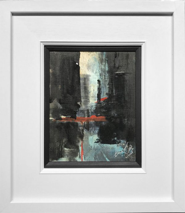 David Coulter Manchester Street Study Original Painting