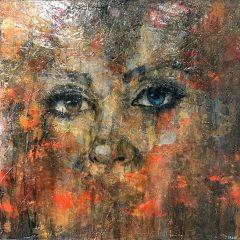 Jamie Green Artist - Eyes of Stone - available at Cheshire Art Gallery
