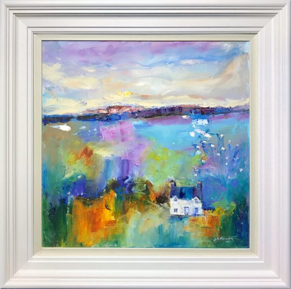Judith Donaghy Anglesey in August Original Painting