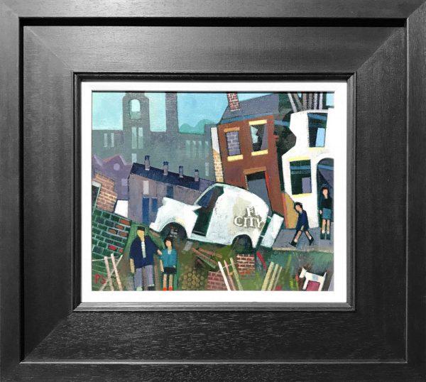 Peter Stanaway Milltown Oldham Original Painting for Sale