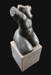 Geoffrey Key Very Rare Female Nude Aluminium Sculpture 2