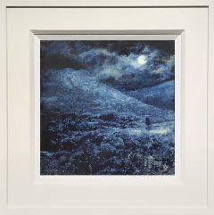 Dean Entwistle Harvest Moon Teggs Nose Moonlit Tempera Painting