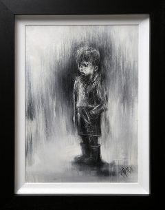 Rourke Van Dal Welly Bobby Original Painting for Sale