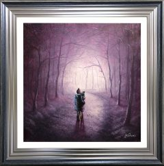 Danny Abrahams Original Painting Treasured Moments