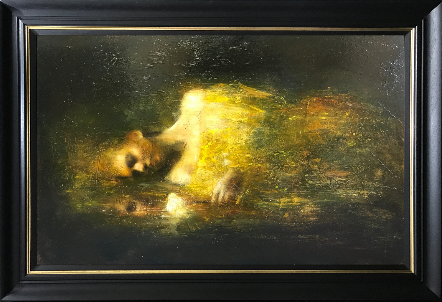 Mark Demsteader Study Nocturn Study Oil Painting
