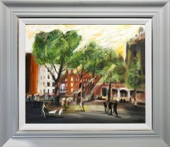 Ben Kelly The Attack, Albert Square available at Cheshire Art Gallery