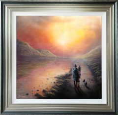 Danny Abrahams Original Painting Take in the Air Snowdonia