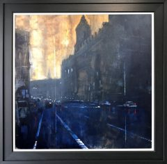 David Coulter Oxford St Original Painting for sale