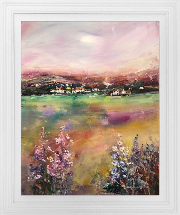 Judith Donaghy Autumn Anglesey Landscape Original Painting