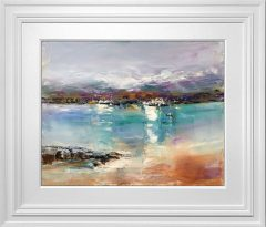 Judith Donaghy Looking towards Caernarfon Original Painting