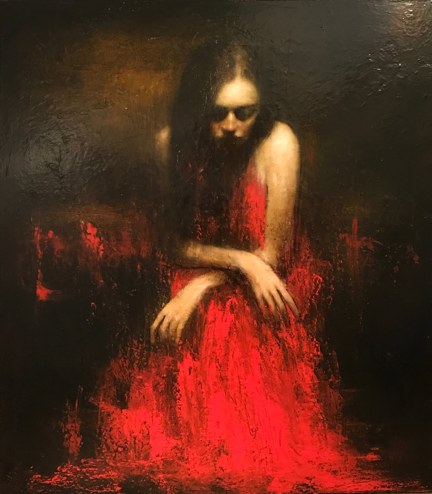 Mark Demsteader Moorland Original Oil Painting For Sale