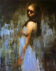 Mark Demsteader Study for the Fall Original Oil Painting