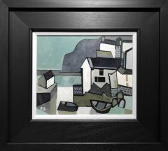 Peter Stanaway Staithes Original Painting for Sale
