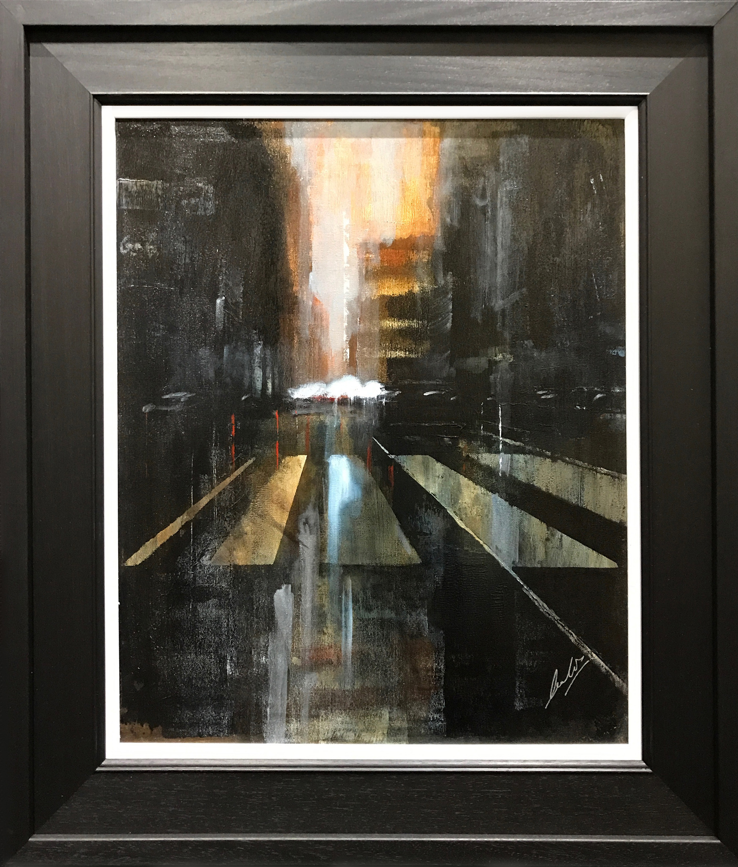David Coulter The Crossing Original Painting for sale