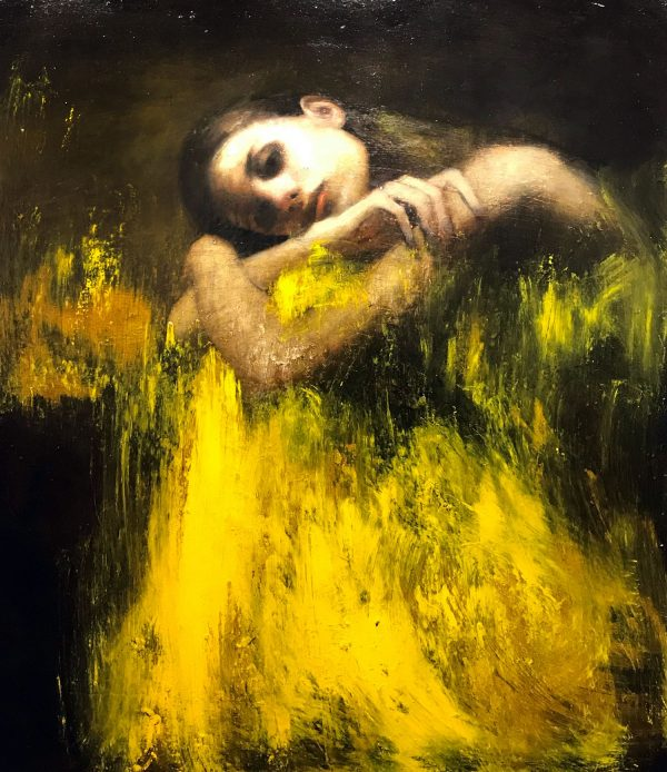 Mark Demsteader Shelter Original Oil Painting