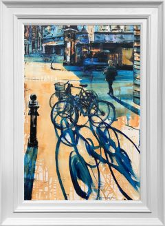 Hugh Winterbottom Bicycles Original Painting
